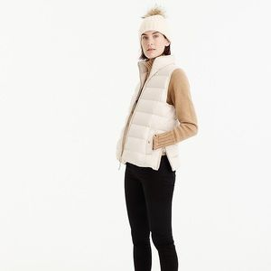 J. Crew Mountain Puffer Vest S NWT